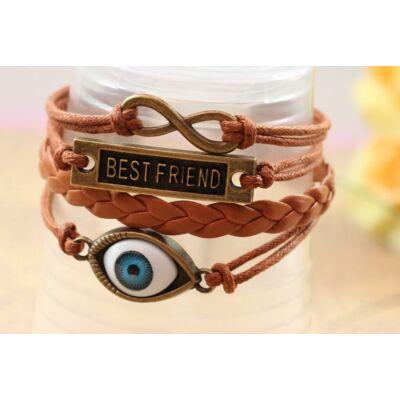 Best Friend barátság karkötő