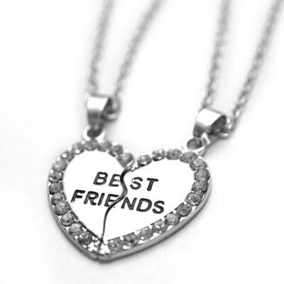 Dupla barátság nyaklánc