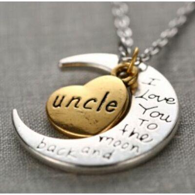 Szeretlek nagybácsi nyaklánc