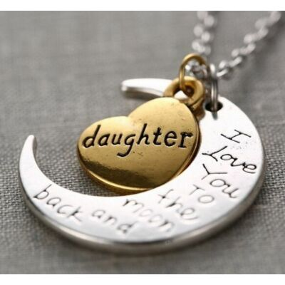 Szeretlek lányom nyaklánc