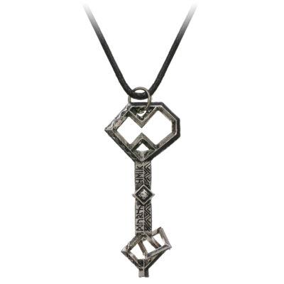 A hobbit stílusú kincsesláda kulcs nyaklánc