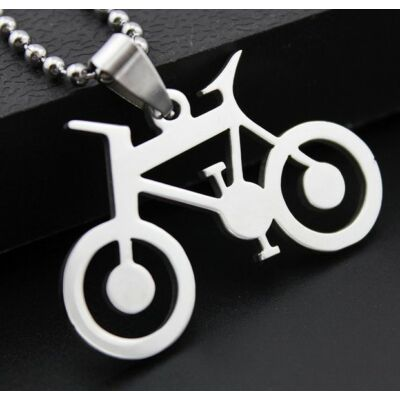 Acél biciklis nyaklánc