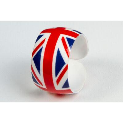 Brit zászlós műanyag karkötő