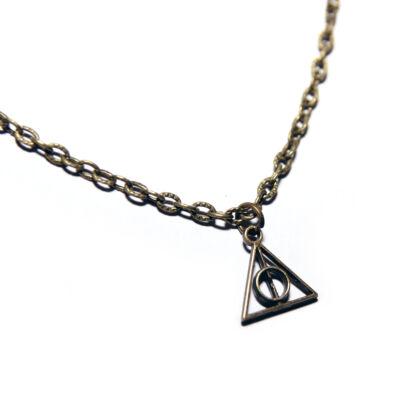 Harry Potter és a halál ereklyéi stílusú nyaklánc