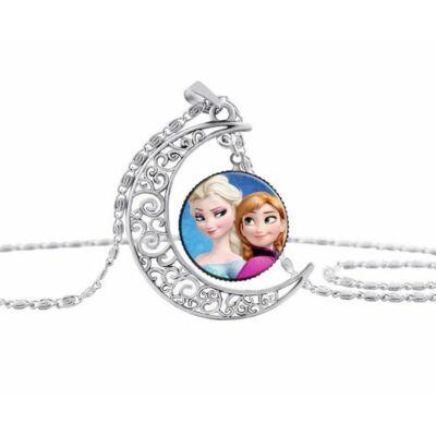 Jégvarázs Elsa és Anna nyaklánc