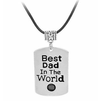 A világ legjobb apukája nyaklánc