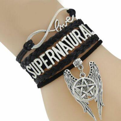 Supernatural feliratú Odaát karkötő