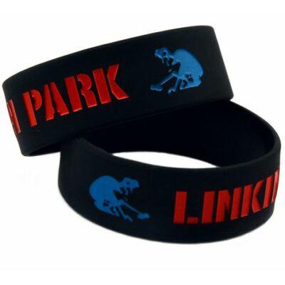 Linkin Park szilikon karkötő