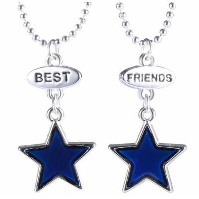 Színváltó páros best friends nyaklánc