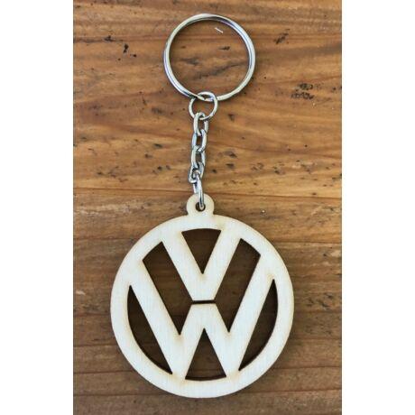 Fa Volkswagen kulcstartó