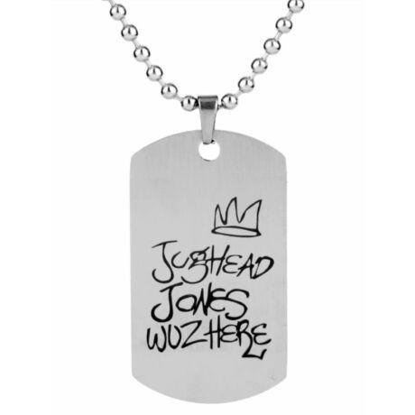 Riverdale Jughead Jones dögcédulás nyaklánc