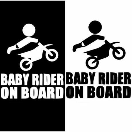 Baby Rider On Board matrica