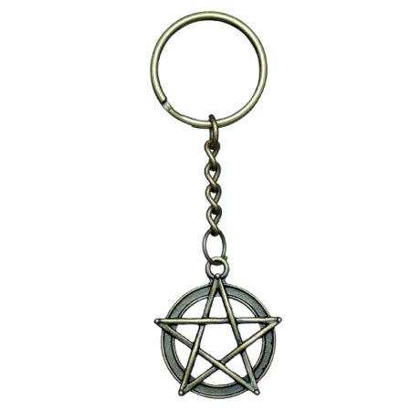 Odaát stílusú (Supernatural) csillag kulcstartó