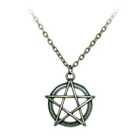 Odaát stílusú (Supernatural) csillag nyaklánc