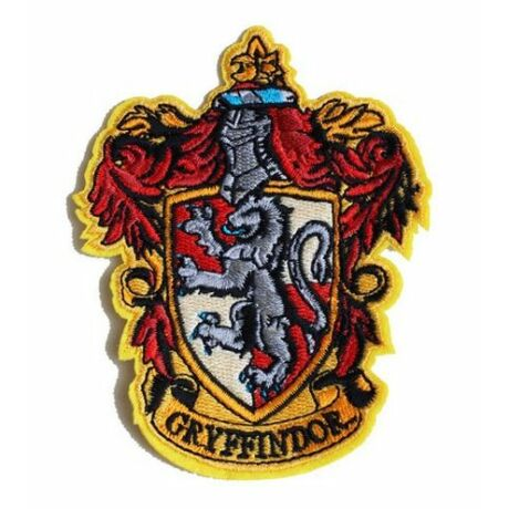 Harry Potter Griffendél felvarró