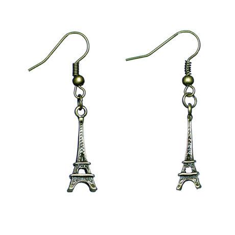 Eiffel-torony fülbevaló
