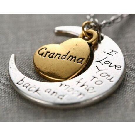 Szeretlek nagymama nyaklánc