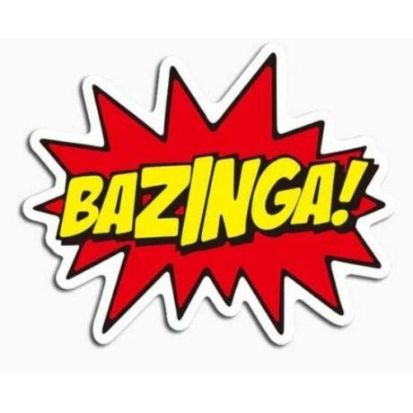 Agymenők Bazinga matrica