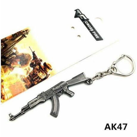 AK47 gépfegyver kulcstartó
