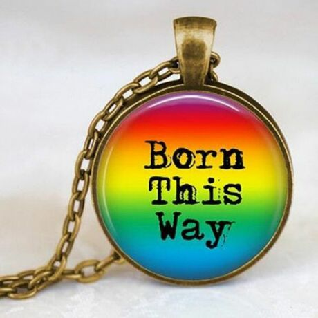Born This Way nyaklánc