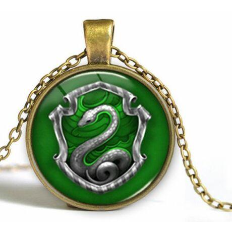 Harry Potter Mardekár (Slytherin) nyaklánc