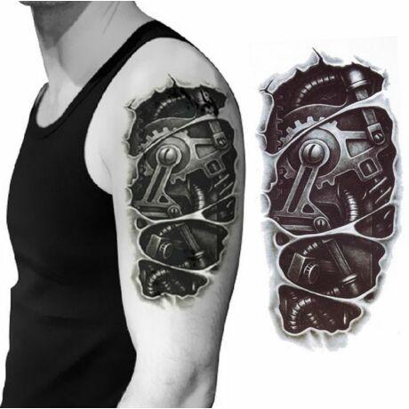 Robotkar tetoválás