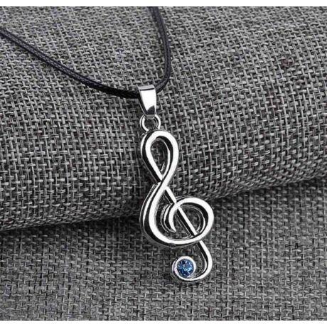 Violinkulcs nyaklánc