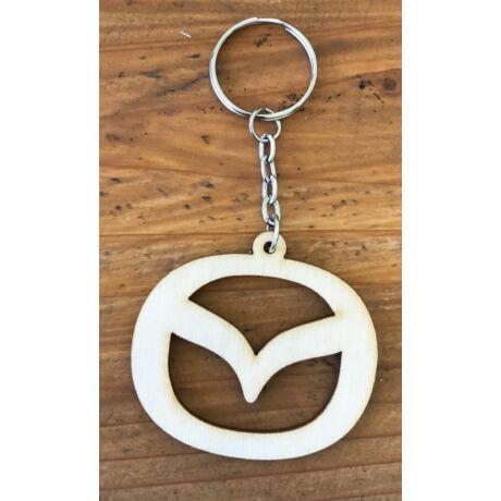 Fa Mazda kulcstartó