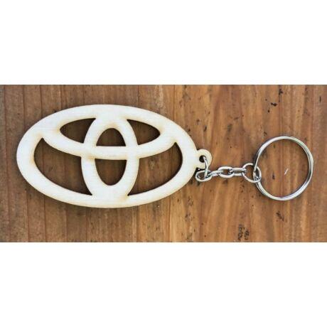 Fa Toyota kulcstartó
