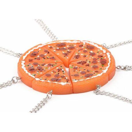 7 részes színes pizza barátság nyaklánc