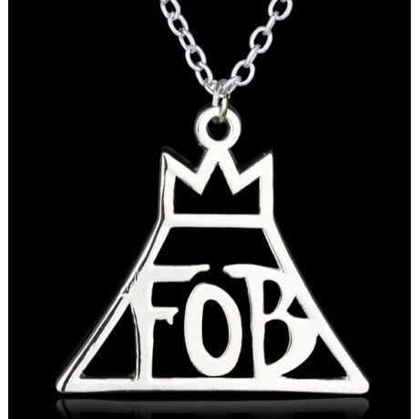 Fall Out Boy FOB nyaklánc