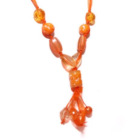 Narancsos nyaklánc