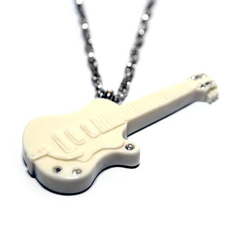 Fehér gitár nyaklánc