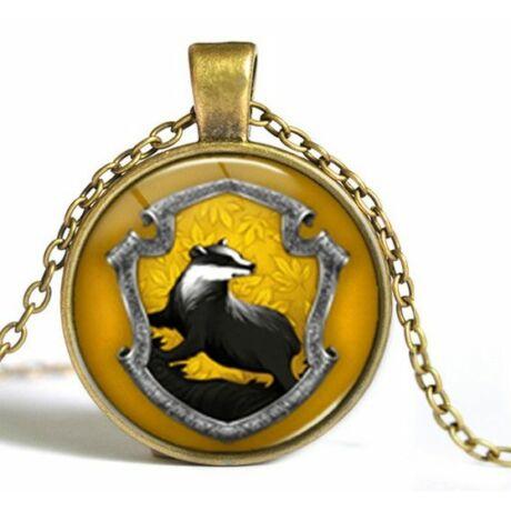 Harry Potter Hugrabug (Hufflepuff) nyaklánc