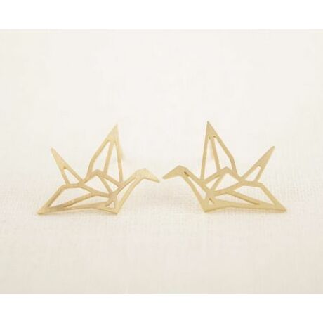 Origami fülbevaló