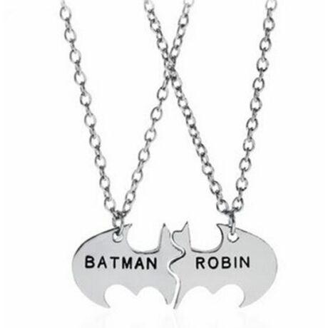 Batman-Robin páros nyaklánc
