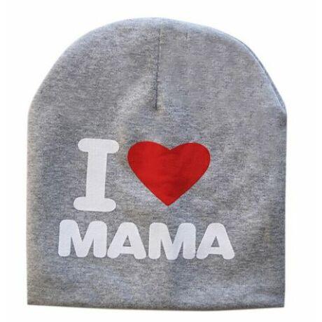 I Love MAMA/PAPA gyereksapka
