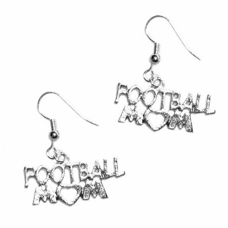 Football Mom fülbevaló