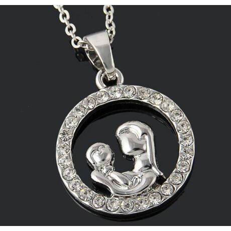 Anya és baba nyaklánc