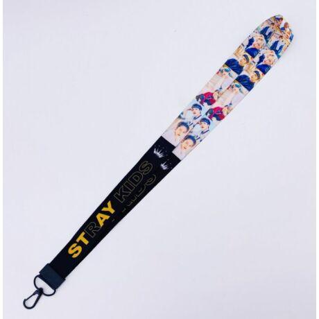 Stray Kids nyakbaakasztós kulcstartó