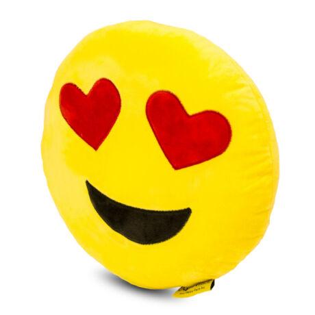 Love smiley kispárna