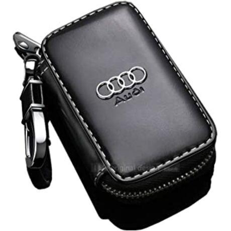 Műbőr Audi kulcstartó