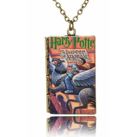 Harry Potter könyv nyaklánc