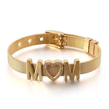 Acél anya (MOM) karkötő