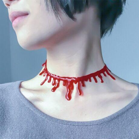 Vérző nyaklánc