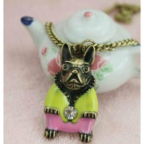 Francia bulldog kutyás nyaklánc