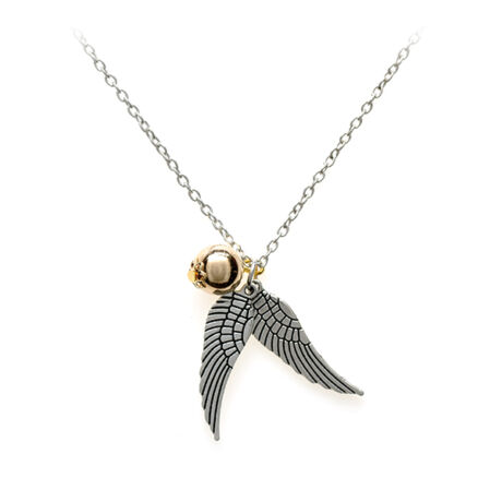 Harry Potter stílusú aranycikesz nyaklánc