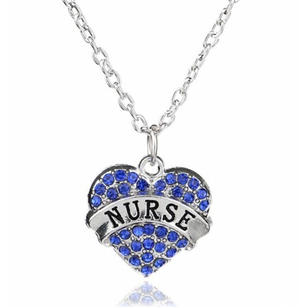 Szíves nővérke nyaklánc