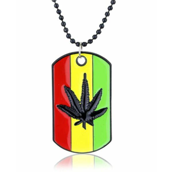 Marihuánás reggae nyaklánc
