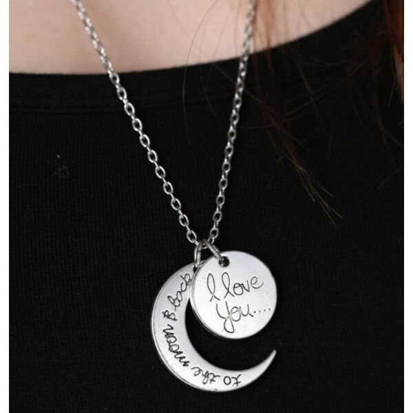 Szeretlek a Holdig és vissza nyaklánc